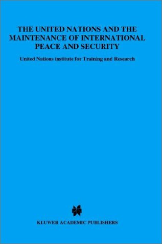 9789024735884: United Nations and the Maintenance of International Peace and Security