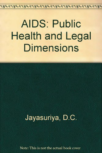 9789024736867: AIDS : Public Health and Legal Dimensions