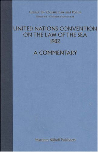 United Nations Convention on the Law of the Sea 1982: Volume V: A Commentary (Hardback): Shabtai ...