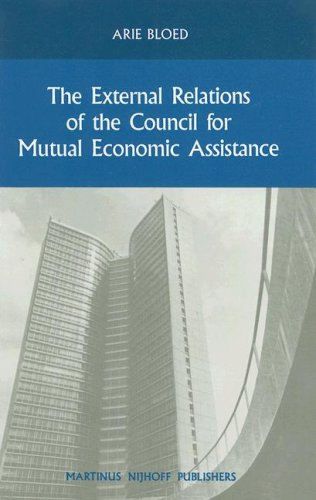 The External Relations of the Council for: Arie Bloed