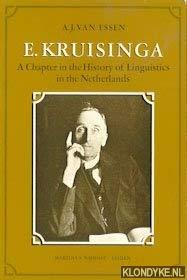 E. KRUISINGA ( IN ENGLISH) A Chapter: Essen, A. J.