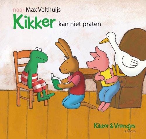 9789025856014: Kikker kan niet praten (Kikker & Vriendjes)