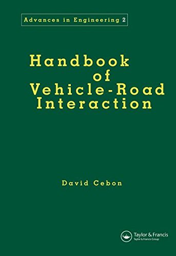 9789026515545: Handbook of Vehicle-Road Interaction (Advances in Engineering Series)