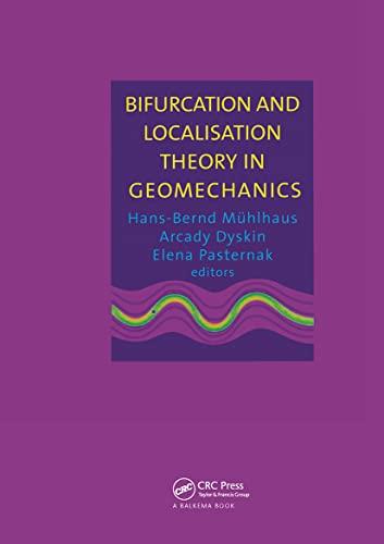 Bifurcation & Localisation Theory Geo: CRC Press