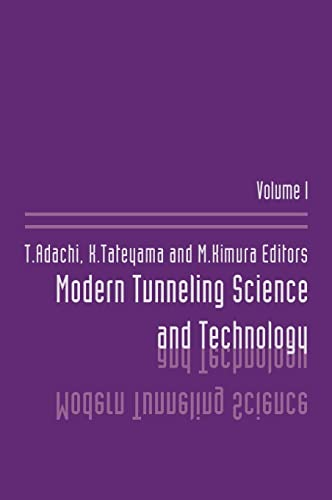 9789026518614: Modern Tunneling Science And T