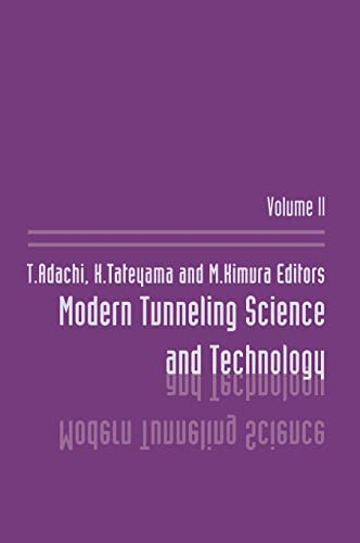 9789026518621: Modern Tunneling Science And T (Volume 1)