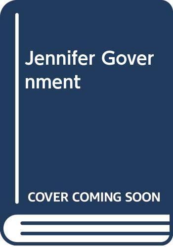 9789026983399: Jennifer Government