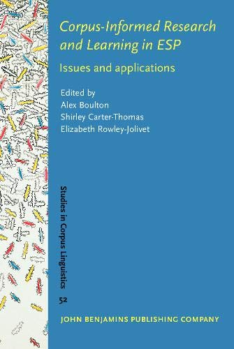9789027203571: Corpus-Informed Research and Learning in ESP: Issues and applications