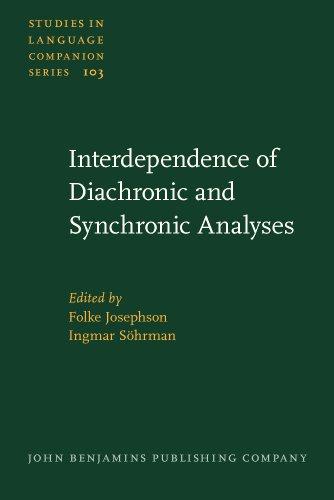 Interdependence of Diachronic and Synchronic Analyses: Aspect,: John Benjamins Publishing
