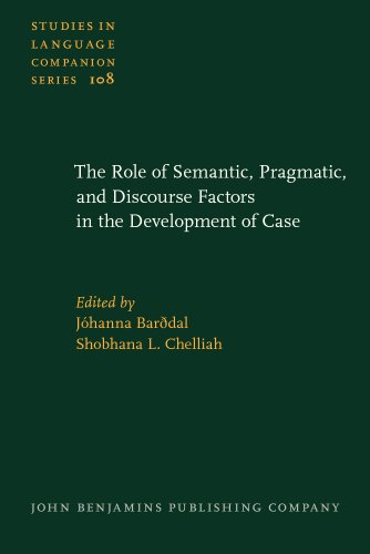 9789027205759: The Role of Semantic, Pragmatic, and Discourse Factors in the Development of Case (Studies in Language Companion Series)