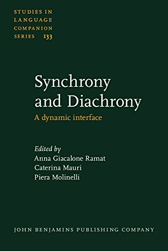 9789027206008: Synchrony and Diachrony: A dynamic interface (Studies in Language Companion Series)