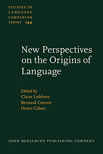 9789027206114: New Perspectives on the Origins of Language (Studies in Language Companion Series)