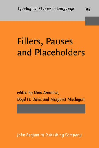 9789027206749: Fillers, Pauses and Placeholders (Typological Studies in Language)