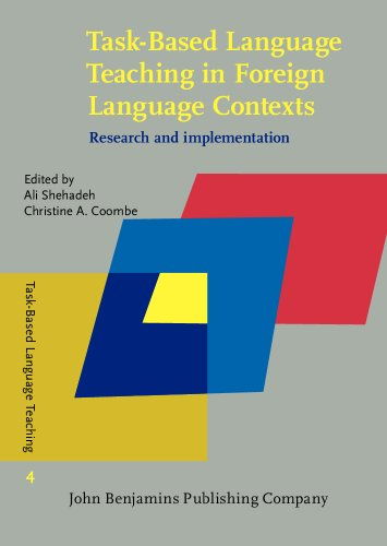 9789027207234: Task-Based Language Teaching in Foreign Language Contexts: Research and implementation