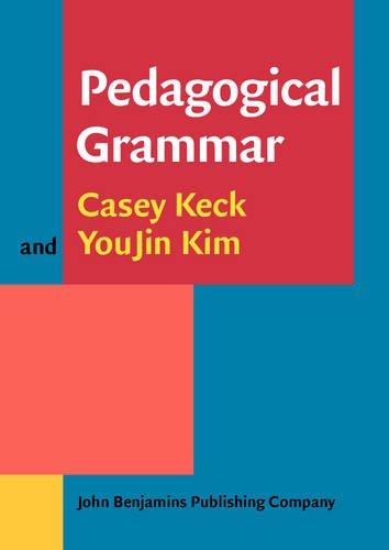 9789027212184: Pedagogical Grammar