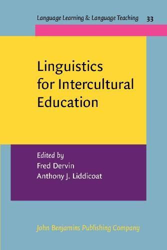 9789027213082: Linguistics for Intercultural Education (Language Learning & Language Teaching)