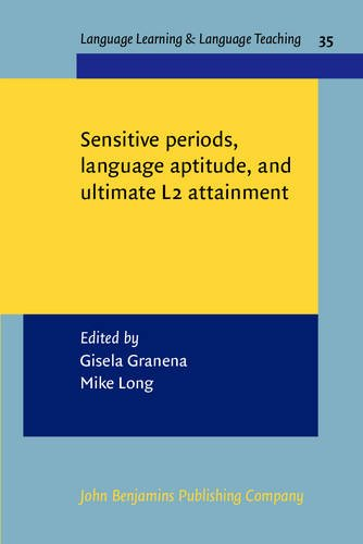 Sensitive periods, language aptitude, and ultimate L2 attainment (Language Learning & Language ...