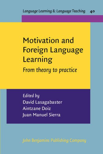 Motivation and Foreign Language Learning: From theory: John Benjamins Publishing