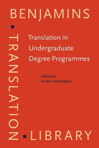 9789027216656: Translation in Undergraduate Degree Programmes (Benjamins Translation Library)