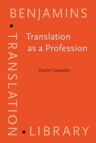 9789027216816: Translation as a Profession (Benjamins Translation Library)