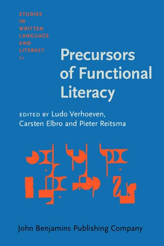 9789027218063: Precursors of Functional Literacy (Studies in Written Language and Literacy)