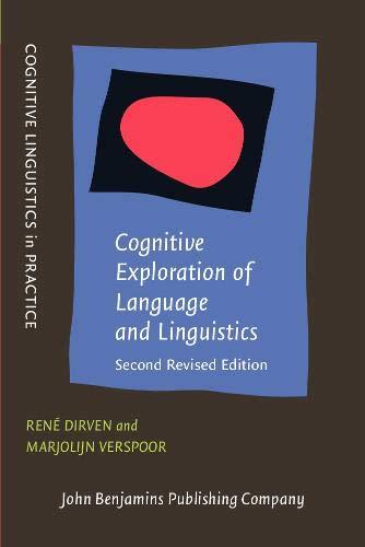 Cognitive Exploration Of Language And Linguistics (Cognitive: Rene Dirven