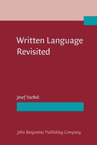 9789027220646: Written Language Revisited