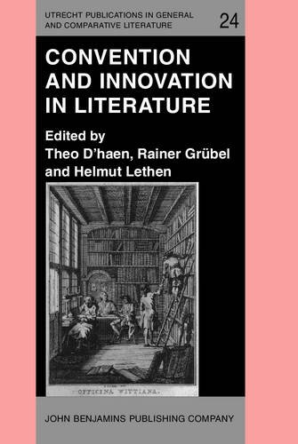 9789027222091: Convention and Innovation in Literature (Utrecht Publications in General and Comparative Literature)