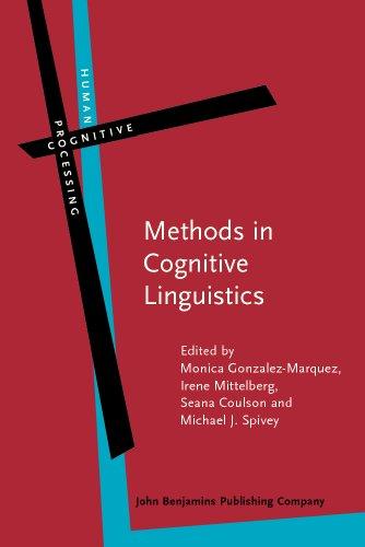 9789027223715: Methods in Cognitive Linguistics (Human Cognitive Processing)