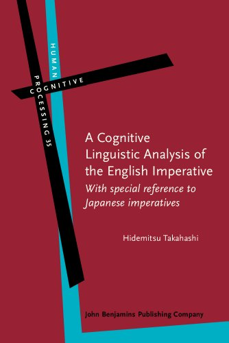 9789027223890: A Cognitive Linguistic Analysis of the English Imperative: With special reference to Japanese imperatives (Human Cognitive Processing)