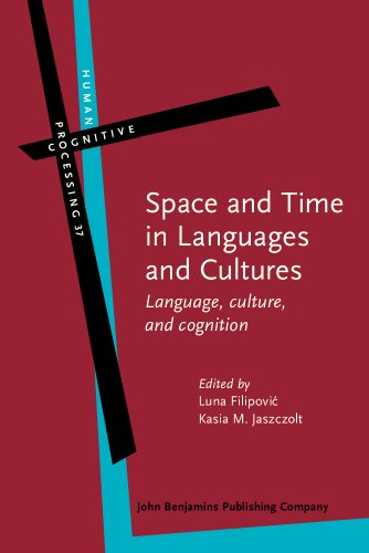 9789027223913: Space and Time in Languages and Cultures: Language, culture, and cognition (Human Cognitive Processing)