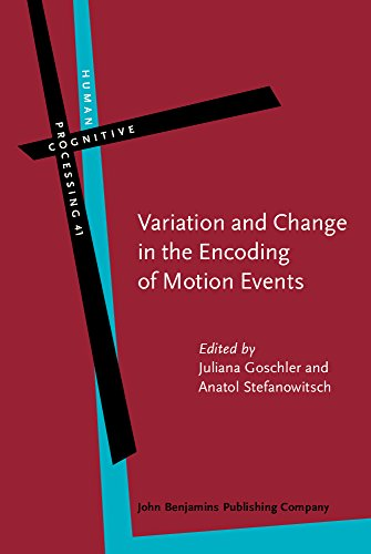 9789027223951: Variation and Change in the Encoding of Motion Events (Human Cognitive Processing)