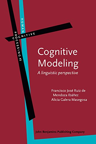 9789027223999: Cognitive Modeling: A linguistic perspective (Human Cognitive Processing)