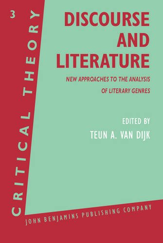 9789027224057: Discourse and Literature: New Approaches to the Analysis of Literary Genres