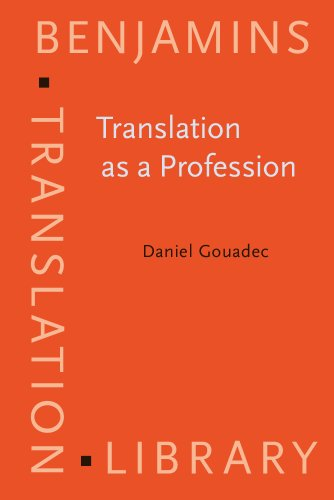 9789027224361: Translation as a Profession (Benjamins Translation Library)
