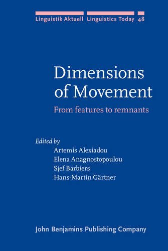 9789027227690: Dimensions of Movement: From features to remnants (Linguistik Aktuell/Linguistics Today)