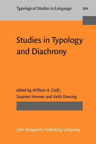 9789027228970: Studies in Typology and Diachrony: Papers presented to Joseph H. Greenberg on his 75th birthday (Typological Studies in Language)