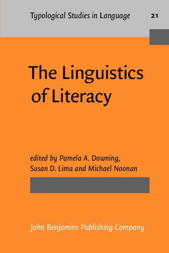 9789027229045: The Linguistics of Literacy (Typological Studies in Language)