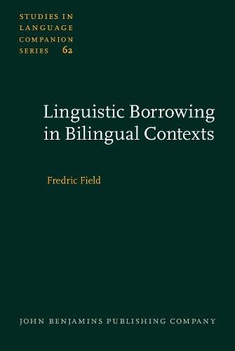 9789027230652: Linguistic Borrowing in Bilingual Contexts (Studies in Language Companion Series)