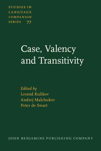 9789027230874: Case, Valency and Transitivity (Studies in Language Companion Series)