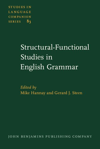Structural-functional Studies in English Grammar.: Mike Hannay and