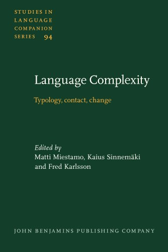 9789027231048: Language Complexity: Typology, contact, change (Studies in Language Companion Series)