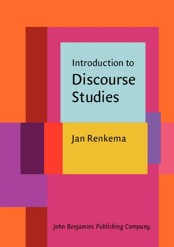 Introduction to Discourse Studies - Prof. Dr. Jan Renkema