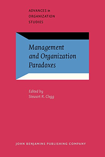 9789027233073: Management and Organization Paradoxes (Advances in Organization Studies)