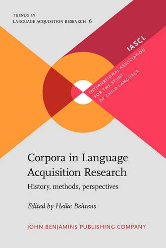 9789027234766: Corpora in Language Acquisition Research: History, Methods, Perspectives (Trends in Language Acquisition Research, Vol. 6)