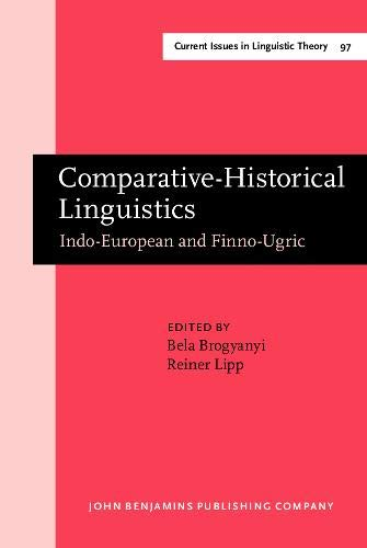9789027235985: Comparative-Historical Linguistics: Indo-European and Finno-Ugric. Papers in honor of Oswald Szemerényi III (Current Issues in Linguistic Theory)