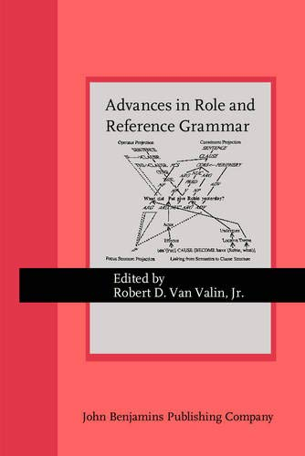 9789027236029: Advances in Role and Reference Grammar (Current Issues in Linguistic Theory)