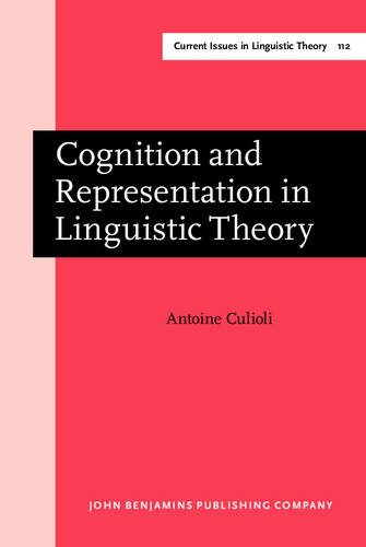 Cognition and representation in linguistic theory. Texts selected, edited and introduced by Michel ...