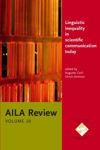 Linguistic inequality in scientific communication today: What: John Benjamins Publishing