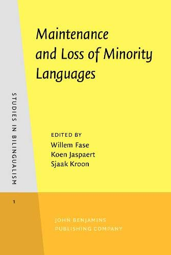 9789027241016: Maintenance and Loss of Minority Languages (Studies in Bilingualism)